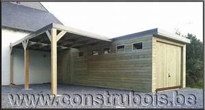 construire garage bois toit plat l39impression 3d With construire garage bois toit plat