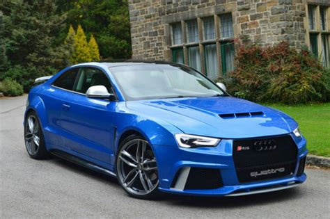 Audi Rs5 Modification by Audi A5 2 7tdi Coupe Modified Wide Bodykit Rs5 Rs Custom