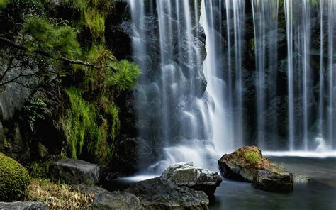 Falling Water Wallpapers And Images  Wallpapers, Pictures