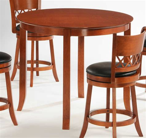 42 inch round dining table homelegance shapel round 42 inch counter height dining