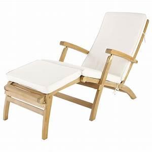 Galette De Chaise Maison Du Monde : fabulous matelas chaise longue cru l cm with galette ~ Melissatoandfro.com Idées de Décoration