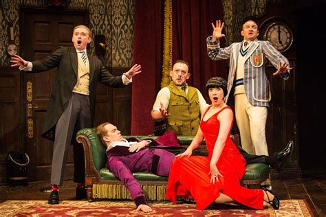 The Play That Goes Wrong The Farce Is Strong With New