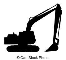 excavators stock illustration images  excavators illustrations   search
