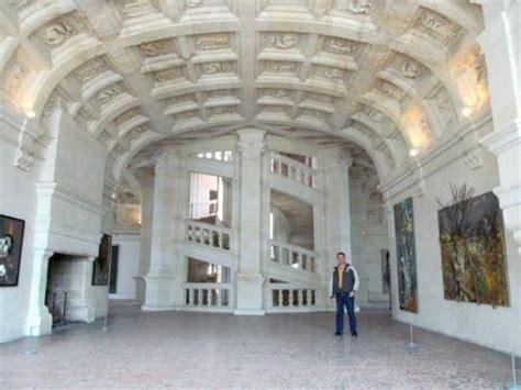 the helix staircase da vinci perhaps picture of chateau de chambord chambord