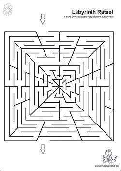 labyrinth raetsel und irrgarten bilder raetseldinode