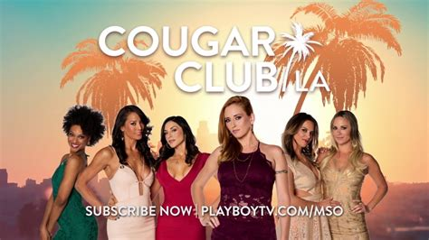 Cougar Club LA Fascination With Cougars YouTube