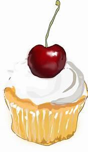 Cupcake Border Clip Art