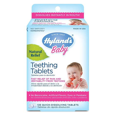 Hylands To Discontinue Teething Tablets Gels In Us