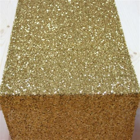 cheap table runners bulk sequin table runner gold 403958 gold sequin table