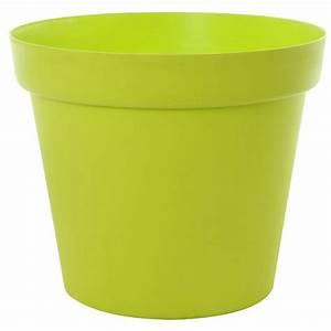 Pot Fleur Plastique : pot de fleurs plastique ansania 70cm vert ~ Premium-room.com Idées de Décoration