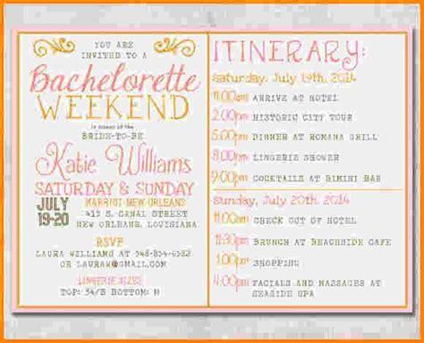 bachelorette itinerary template free 17 best ideas about bachelorette itinerary on bachelorette invitations