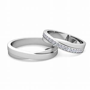 matching wedding band infinity diamond wedding ring set With engagement rings with matching wedding bands