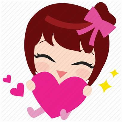 Icon Heart Emoticon Thankyou Icons 512px Getdrawings