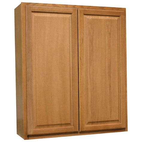 oak kitchen cabinets home depot hton bay hton assembled 36x42x12 in wall kitchen