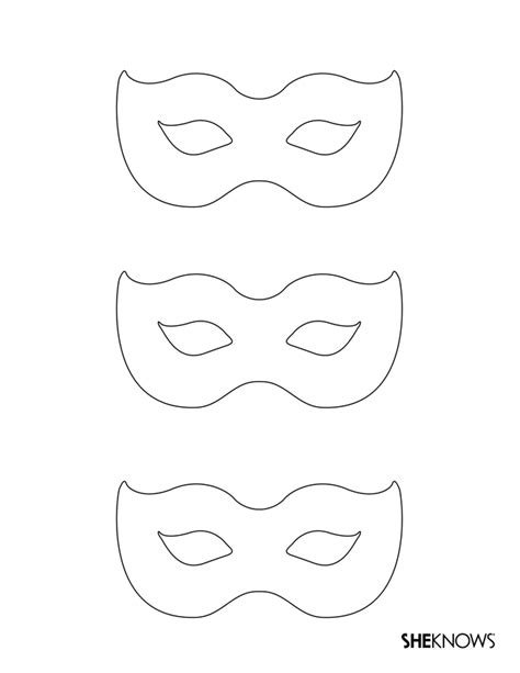 Masquerade Mask Template For Adults by Masquerade Masks Free Printable Coloring Pages