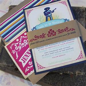festive mexico wedding invitation tulum mexico With when should destination wedding invitations be mailed