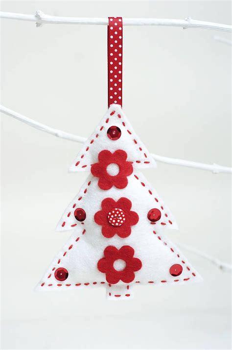 unique christmas decorations sewing ideas  pinterest