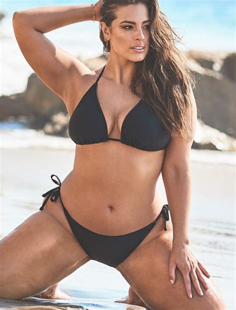 Plus Size Ashley Graham x Swimsuits For All Icon Black ...
