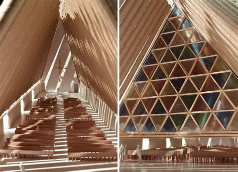 shigeru ban christchurch nz cardboard cathedral
