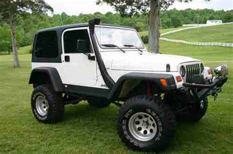 4 door jeep rock crawler buy used 1999 jeep wrangler rock crawler 2 door 4 0l 11
