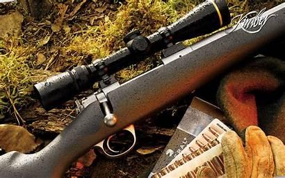 Hunting Rifle Wallpapers Desktop Kimber Cool Automatic