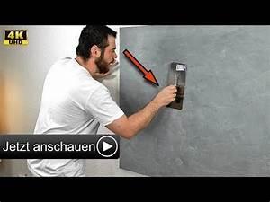 Betonoptik Wand Selber Machen : betonoptik selber machen i alpina wand spachteltechnik zum streichen hd youtube ~ Frokenaadalensverden.com Haus und Dekorationen