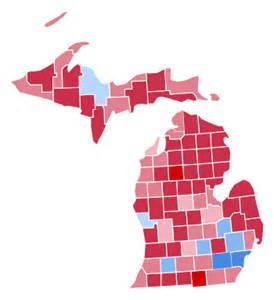2016 Presidential Election Results Michigan