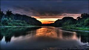 Nature, Sunset, Wallpaper, Hd, 1080p
