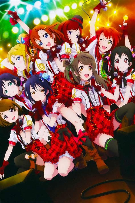 love  school idol project poster  hot posters