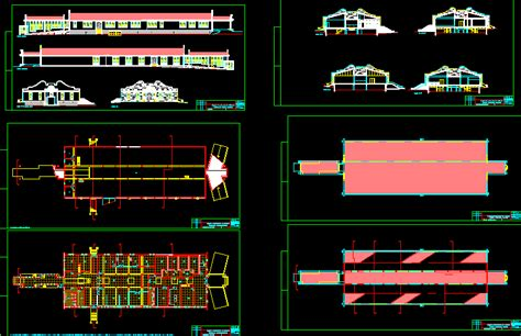 industrial kitchen  autocad cad   kb