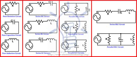 what is an electric circuit types of circuits network