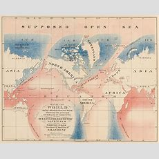 These Maps Show The Epic Quest For A Northwest Passage