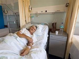 NHS Patients routinely wait 12 hours on trolleys, elderly ...