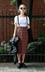 Pencil Skirt Street-Style