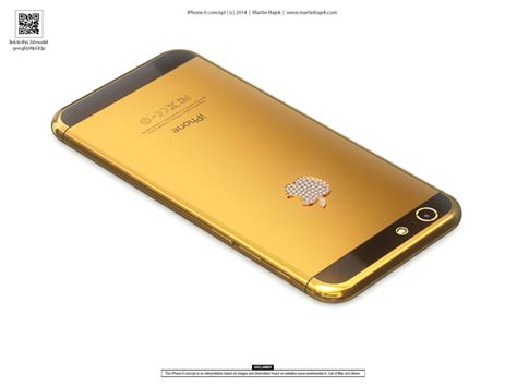 gold iphone 6 gold iphone 6 is eye concept phones