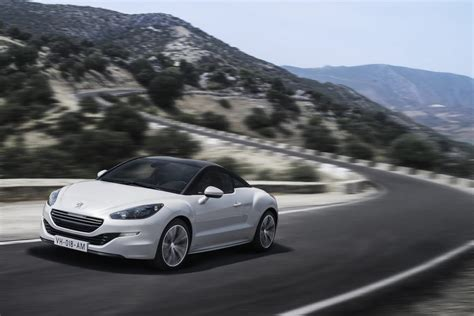peugeot releases uk pricing   rcz sports coupe