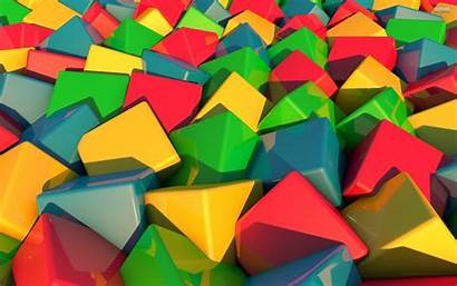 3d Colorful Wallpapers Cubes Graphics Pain Creative