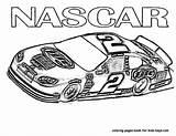 Nascar Coloring sketch template