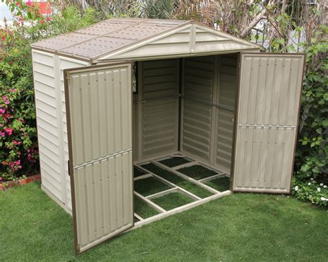 storeall vinyl shed wfoundation kit nw quality sheds