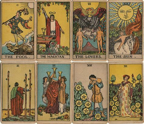 Haven't got time to look up tarot meanings in a book? Rider-Waite Tarot - The World of Playing Cards