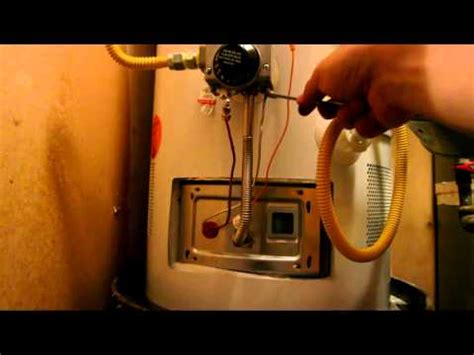 o a smith hotwater pilot light thermocouple replacement how to save money and do it yourself