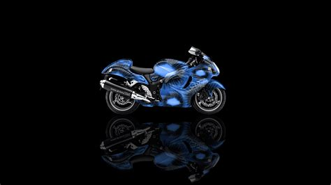 suzuki hayabusa side kiwi aerography bike  el tony