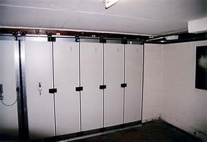 nos realisations de portes de garage With porte de garage coulissante avec double porte pvc