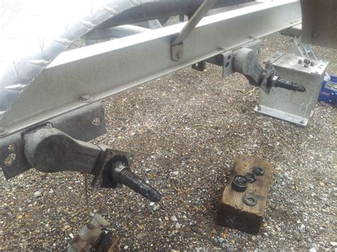 Boat Trailer Axle Lift by Tie Engineering Eliminator Torsion Axle Www