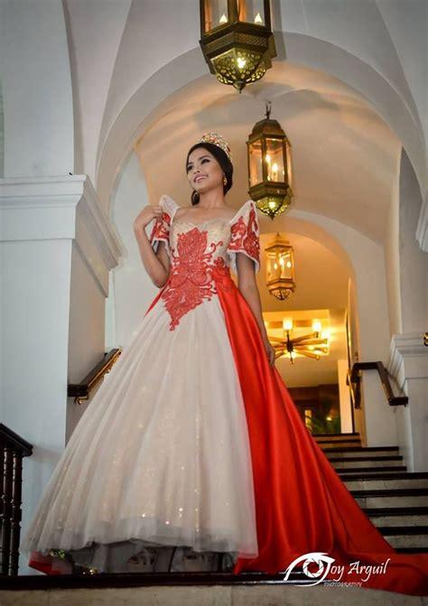 filipiniana terno   gown