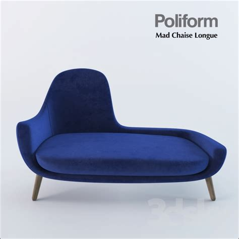 chaise 3 en 1 3d models other seating poliform mad chaise longue