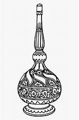 Perfume Bottle Coloring Woodblock Egypt Cool Clipart Clipartkey sketch template