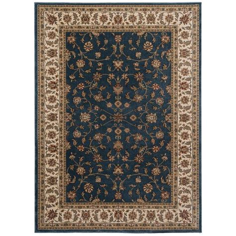 home decorators collection rugs home decorators collection maggie blue 5 ft 3 in x 7 ft 42136