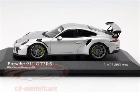 porsche model car porsche 911 991 gt3 rs von minichs in 1 43