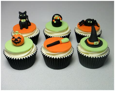 easy halloween cupcake decorations festival collections